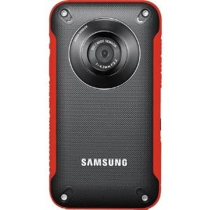 HMX-W300RN HD Pocket Camcorder (Red)