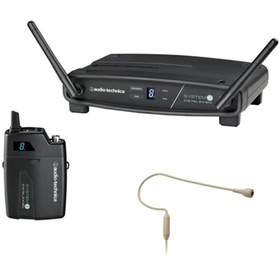 System 10 Wireless Headworn Microphone System - Beige (ATW-1101/H92-TH)