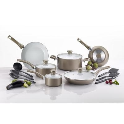 16-Piece Non-stick Ceramic Cookware Set - C728SE64