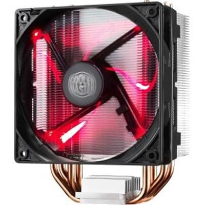 Hyper 212 LED CPU Cooler w/ PWM Fan, Four Direct Contact Heat Pipes, Red LEDs
