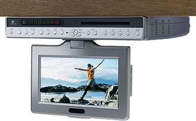 9` Under Cabinet Drop Down Multifunctional flat screen LCD TV