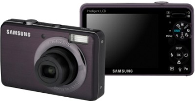 SL202 10MP/ 3X OPT/ 2.7` LCD Digital Camera (Violet/Gray)