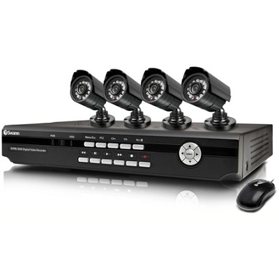 SWDVK-826004 - 8 Channel DVR with Smartphone Viewing & 4 x CCD Cameras