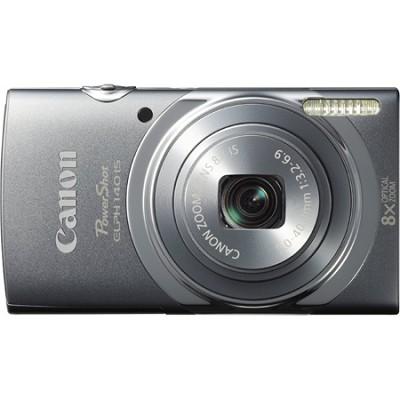 PowerShot ELPH 140 IS 16MP 8x Opt Zoom Digital Camera - Grey