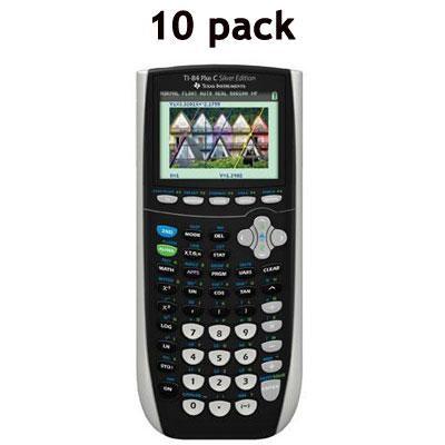 Plus C Silver Edition Graphing Teacher Calculator Pack - 84PLSEC/TPK/2L1/C