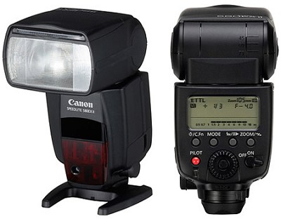 Speedlite 580EX II CANON AUTHORIZED USA DEALER WARRANTY INCLUDED