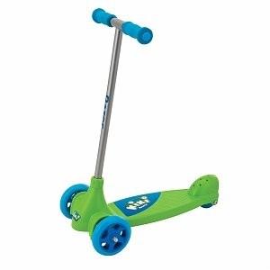 Kixi Kix 3-Wheel Kids Kick Scooter - Blue/Green