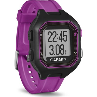 Forerunner 25 GPS Fitness Watch - Small - Black/Purple