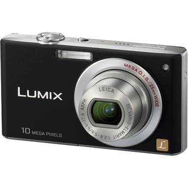 DMC-FX35K - Slim Compact 10MP Digital Camera (Black) w/ 2.5-inch LCD-Refurbished