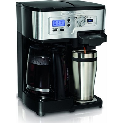 2-Way FlexBrew 12-Cup Coffeemaker
