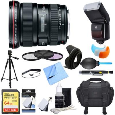 EF 17-40mm F/4 L USM Lens Ultimate Accessory Bundle
