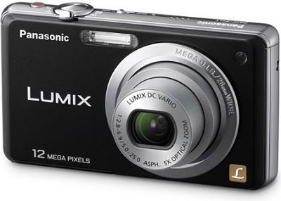 DMC-FH1K LUMIX 12.1 Megapixel Digital Camera (Black) - REFURBISHED