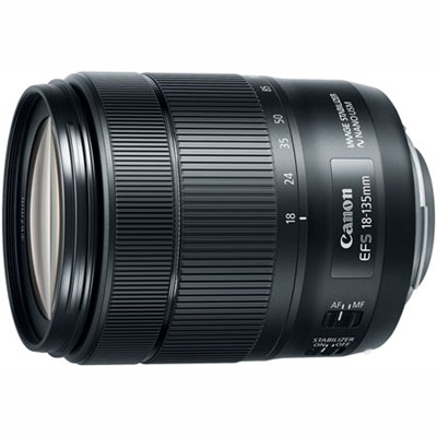 EF-S 18-135mm f/3.5-5.6 IS USM Lens - Authorized USA Dealer Warranty Included