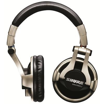 SRH750DJ Professional Quality DJ Headphones (Gold)