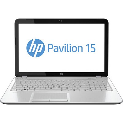 Pavilion 15.6` HD LED 15-e085nr Notebook PC - AMD Quad-Core A4-5000 Acc. Proc.