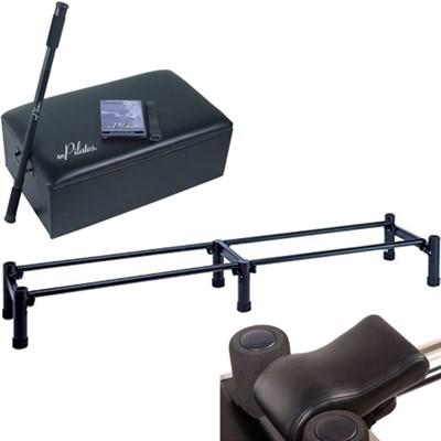 AeroPilates Box + Pole Bundle w/ 3 Cord Reformer Stand, Pillow 05-0025