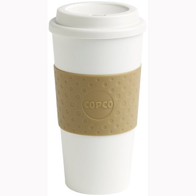 16-Ounce Capacity Acadia Reusable To Go Mug - Tan (2510-9968)