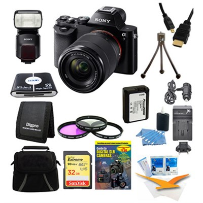 Alpha 7K a7K Digital Camera and HVL-F60M Bundle
