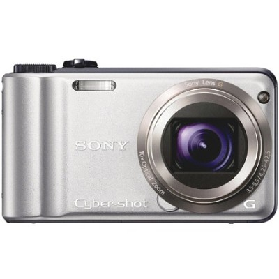 Cyber-shot DSC-H55 14.1 MP Digital Camera (Silver) - REFURBISHED