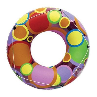 48 inches Bright Color Circles Tube - 87148