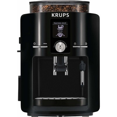 Espresseria Full Automatic Espresso Machine with Built-in Conical Burr Grinder