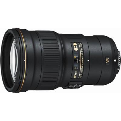 AF-S FX Full Frame NIKKOR 300mm f/4E PF ED VR Lens