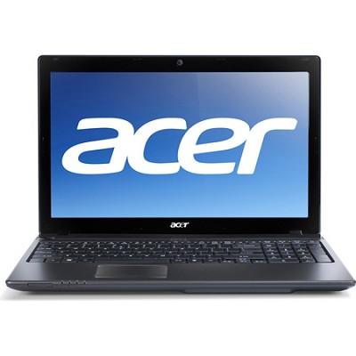 Aspire AS5560-8480 15.6` Notebook PC (Black) - AMD Quad-Core A8-3520M Accel Proc