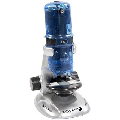 Amoeba Dual Purpose Digital Microscope - 44325 (Blue)