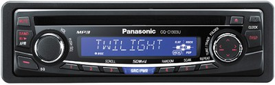 CQ-C1303U In-Dash AM/FM Receiver w/ CD player and MP3 playback