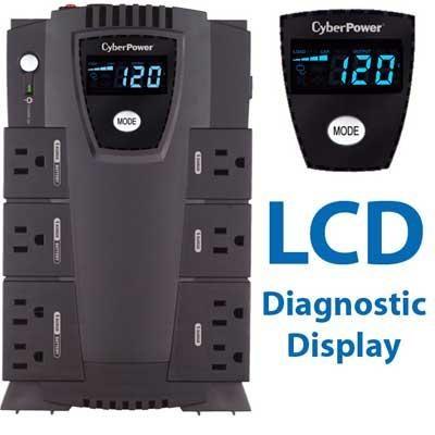 600VA Intelligent LCD Uninterruptible Power Supply - CP600LCD