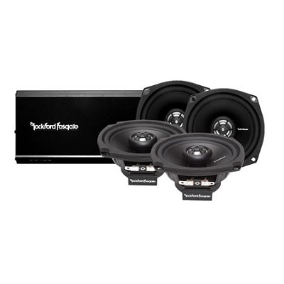 R1-HD4-9813 4 Channel Amp And Speaker Kit for Motorcycles