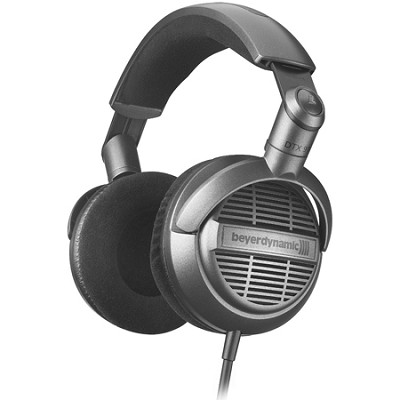 Cross border:-BeyerDynamic DTX 910 Hifi Open Headphones (Silver/Black)