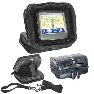 Universal GPS Nav-Pack - Weighted Dash Mount/Carrying Case - Open Box