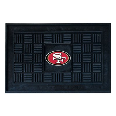 NFL San Francisco 49ers Vinyl Heavy Duty Door Mat