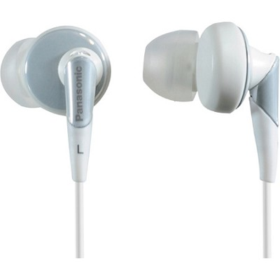 RP-HJE450-W In-Ear ErgoFit Design Earbuds (White)