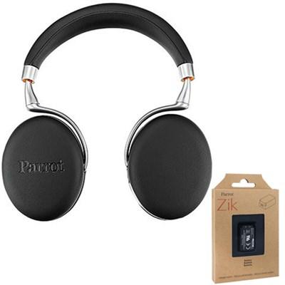 Zik 3 Wireless Noise Cancelling Bluetooth Headphones Blk Leather + Battery