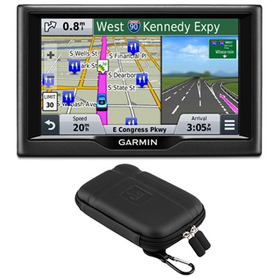 nuvi 58 5` Essential Series 2015 GPS Navigation System US & Canada Case Bundle