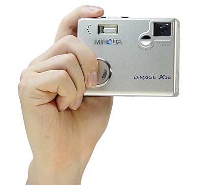 CLOSEOUT***Dimage X20 Digital Camera