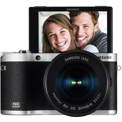 NX300M Mirrorless Digital Camera with 18-55mm f/3.5-5.6 ED Lens - OPEN BOX