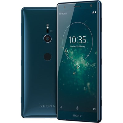 Xperia XZ2 - Unlocked Phone - 5.7` Screen - 64GB - (Deep Green) - (1313-7929)