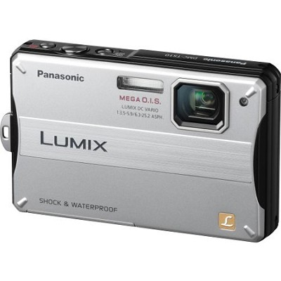 Lumix DMC-TS10S 14.1 MP Digital Camera (Silver)