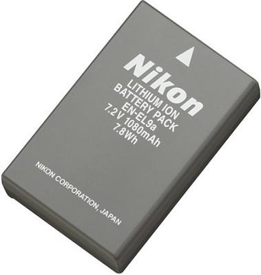 EN-EL9a Lithium Rechargeable Battery For Nikon D3000 and D5000