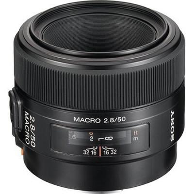 SAL50M28 - 50mm f/2.8 Macro A-Mount Lens