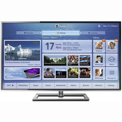 58 Inch Ultra-Slim LED TV ClearScan 240Hz Cloud TV (58L7300)