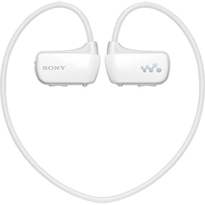 NWZ-W273 fully waterproof wearable Walkman 4GB MP3 player (White)