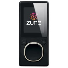 Zune 2nd Generation 8GB Media Player (Black)