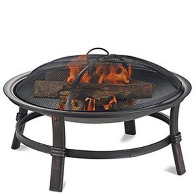 17`H Wood Burning Firebowl