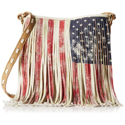 BLFRINGE Cross Body American Flag Bag