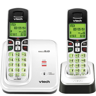 CS6219-2 - DECT 6.0 Cordless Phone System with Call-Waiting Caller ID