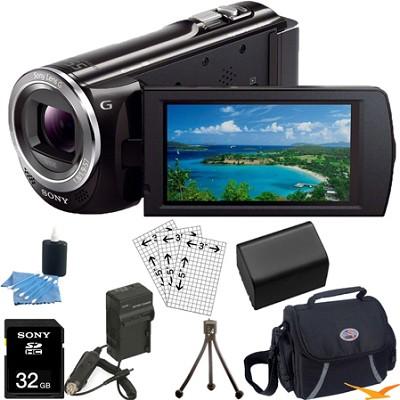 HDR-CX380/B 16GB Full HD Flash Memory Camcorder Ultimate Bundle